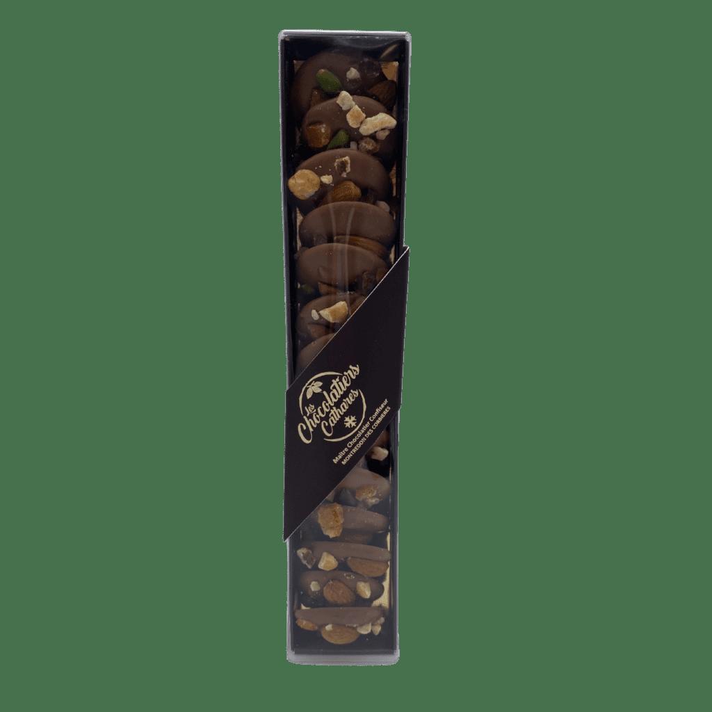 chocolat narbonne mendiant lait